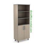 Шкаф с дверцами 0,8 х 0,42 х 1,95Н