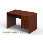 Стол 1,2 х 0,7 х 0,74Н с подвесной тумбой на 3 ящика