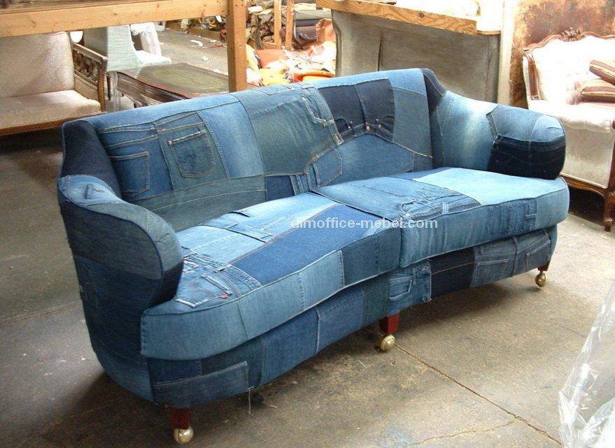 диван из ждинсов